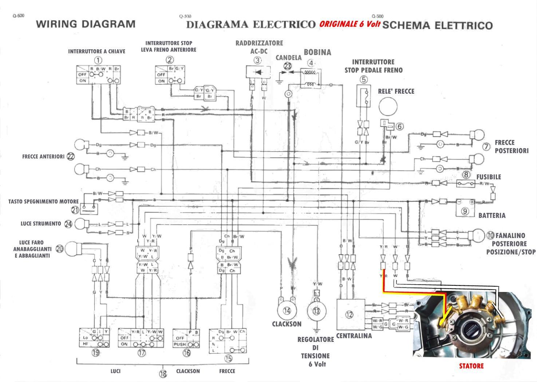 Schema Elettrico Yamaha Tdm : Varie impianto v tt yamaha x
